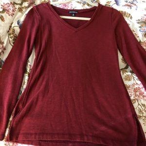 JCrew Merc. Rust colored Sweater